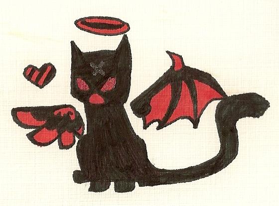 Cat Familiar Concept by DisposableMutt