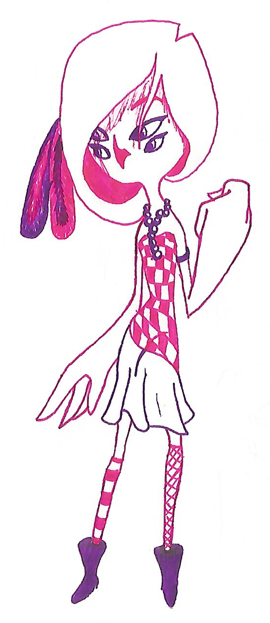 Owl Girl Pink by DisposableMutt