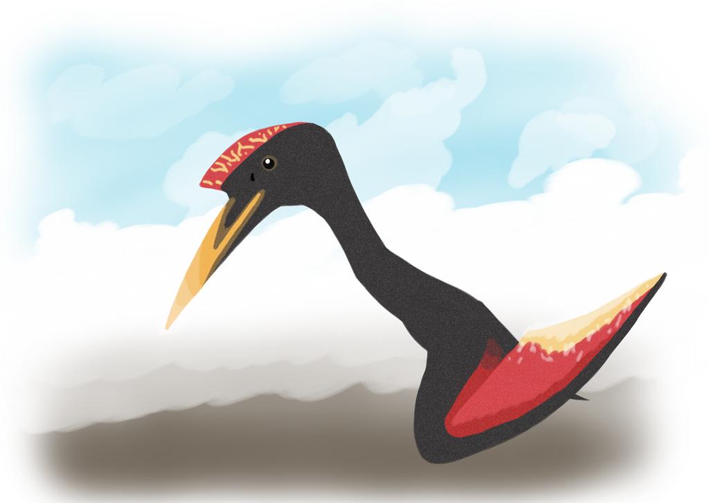 Quetzalcoatlus by DisposableMutt