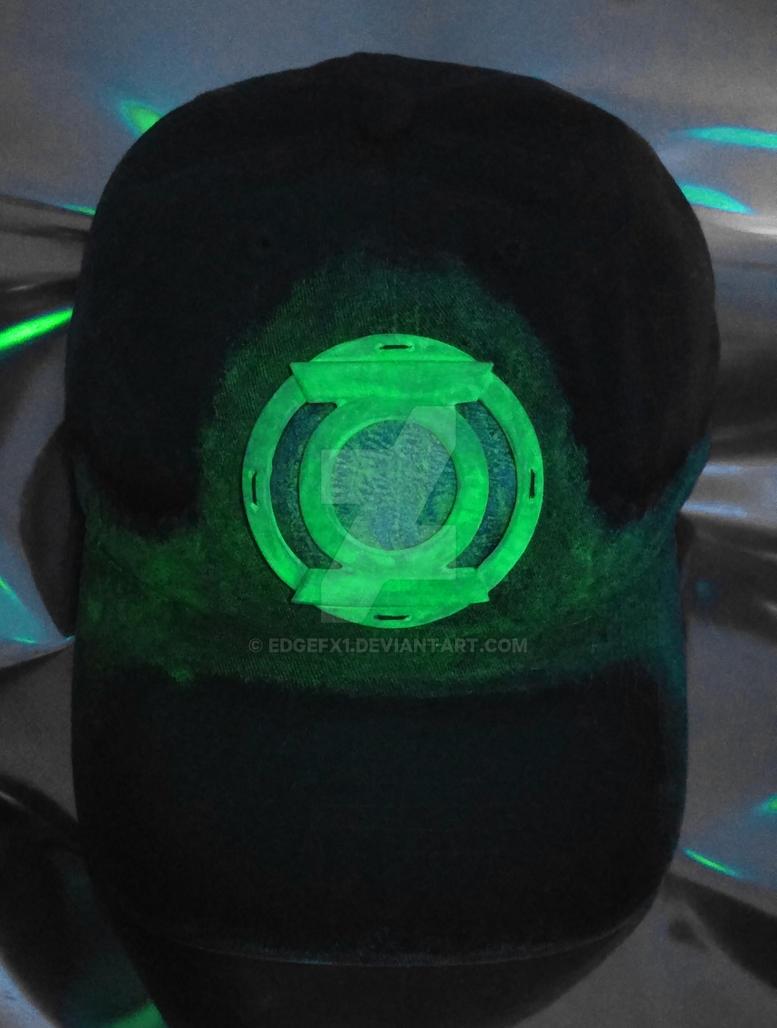 Green Lantern hat Glow view by EdgeFx1