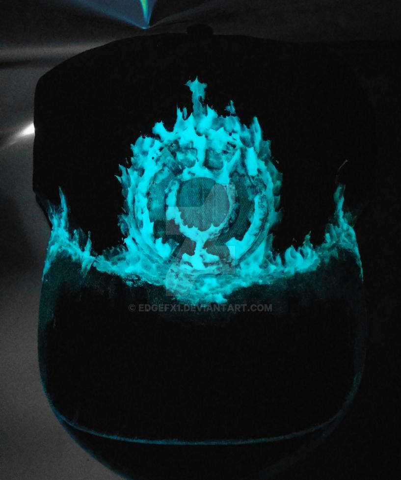 Blue Lantern hat Glow view by EdgeFx1