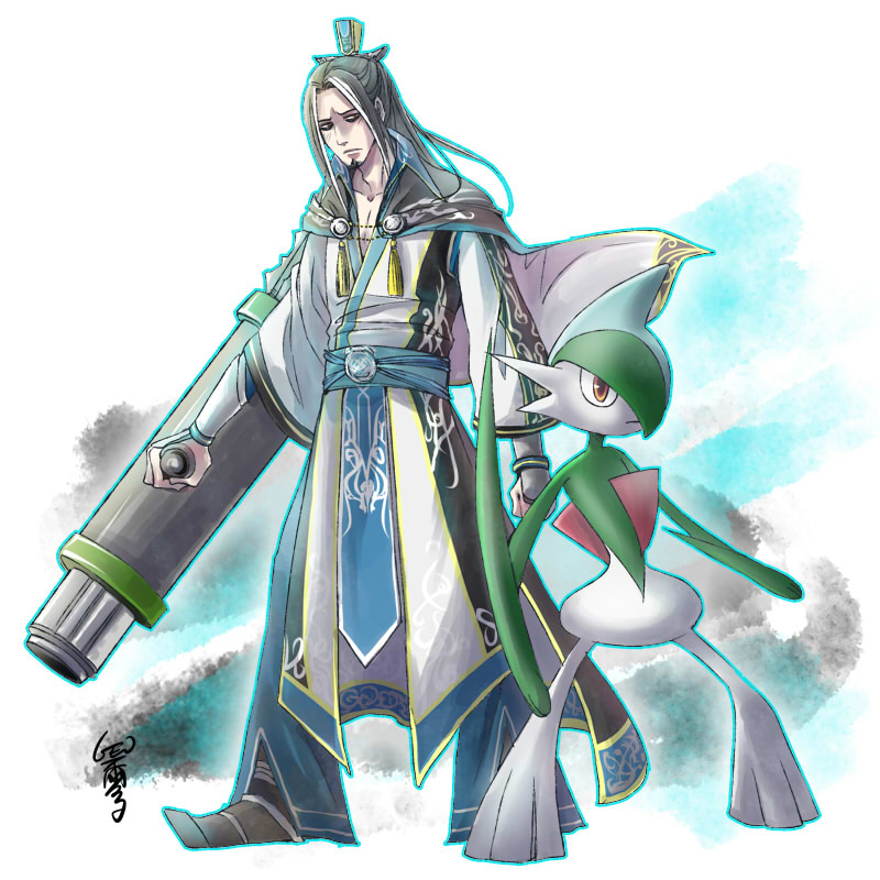 Guo Huai and Gallade by GENgoodstick