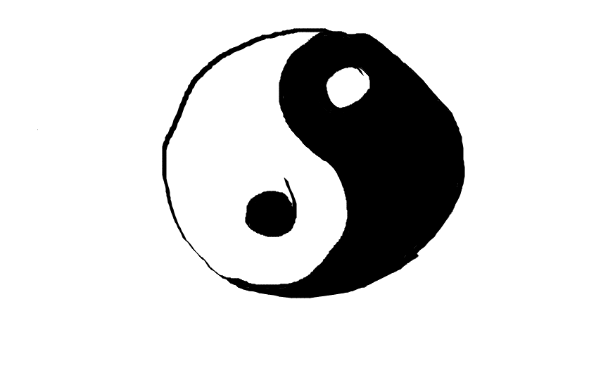 Random ying yang thingy by Karinart8 on DeviantArt