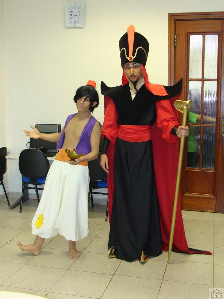 Aladdin and Jafar by jaacksays