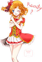 Love Live! Honoka by Rushire