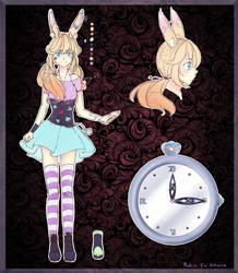 [DT] Rabbit girl - Design sheet