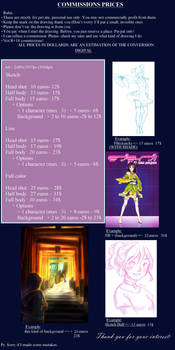 Commission prices - OPEN