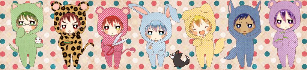 Kuroko no Basket kohis sticker by tip3361