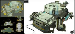 Mobile turret