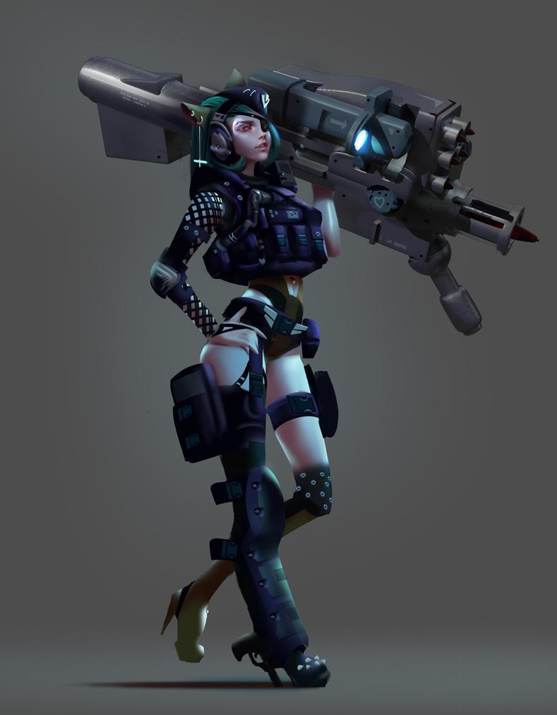 bazooka by Sexforfood