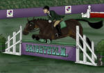 Brighthelm showjumping a
