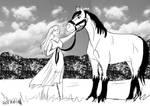 Nick's horse