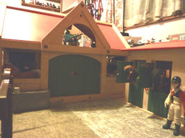 1/12 scale stable yard 3 by Louvan