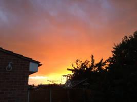 Evening sky 1 by Louvan