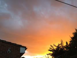 Evening sky 2 by Louvan