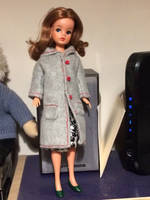 New winter coat for an old doll.