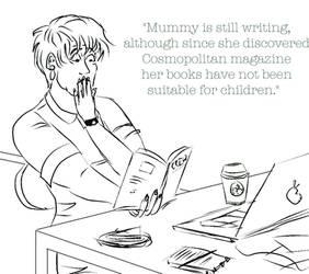 Mummy's latest book