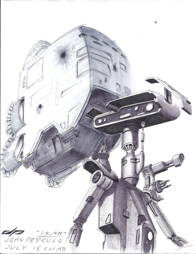 Star Wars SCr-114 ''Skar'' sketch by Augos