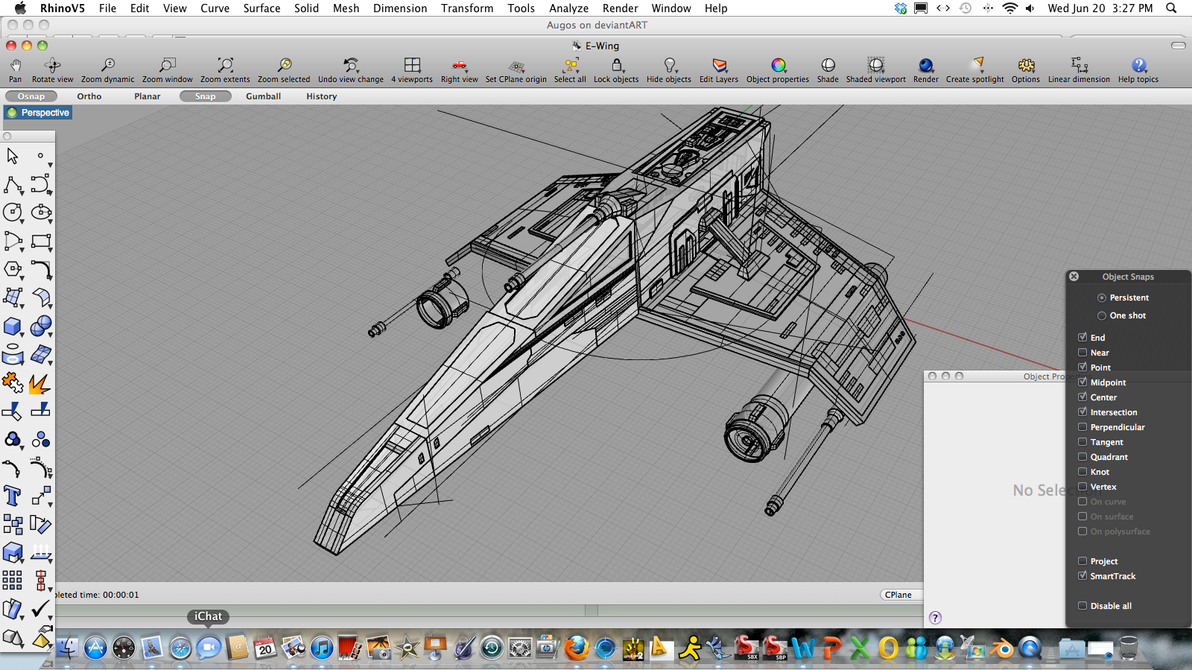 Star wars e wing 3d model wip my point of view by augos on deviantart star wars e wing 3d model wip my point of view by augos baditri Choice Image
