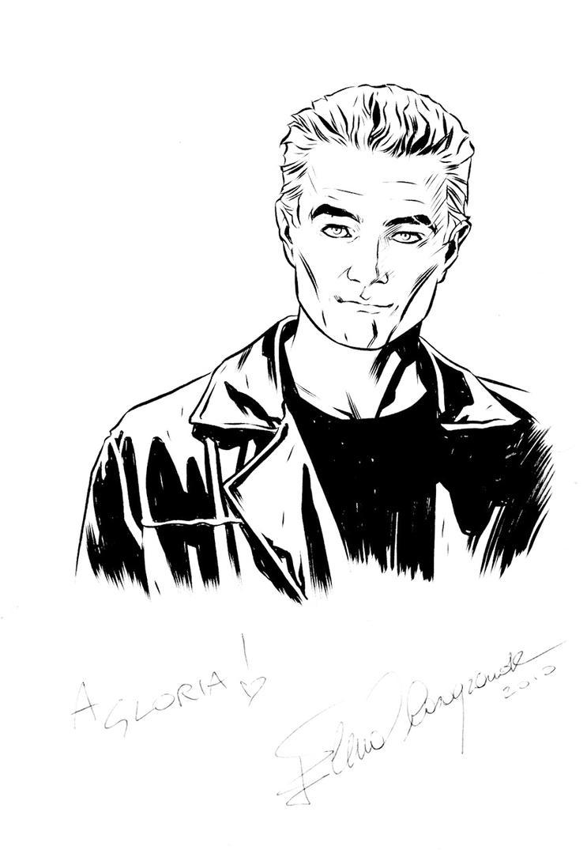 Comicon sketche - Spike by elena-casagrande