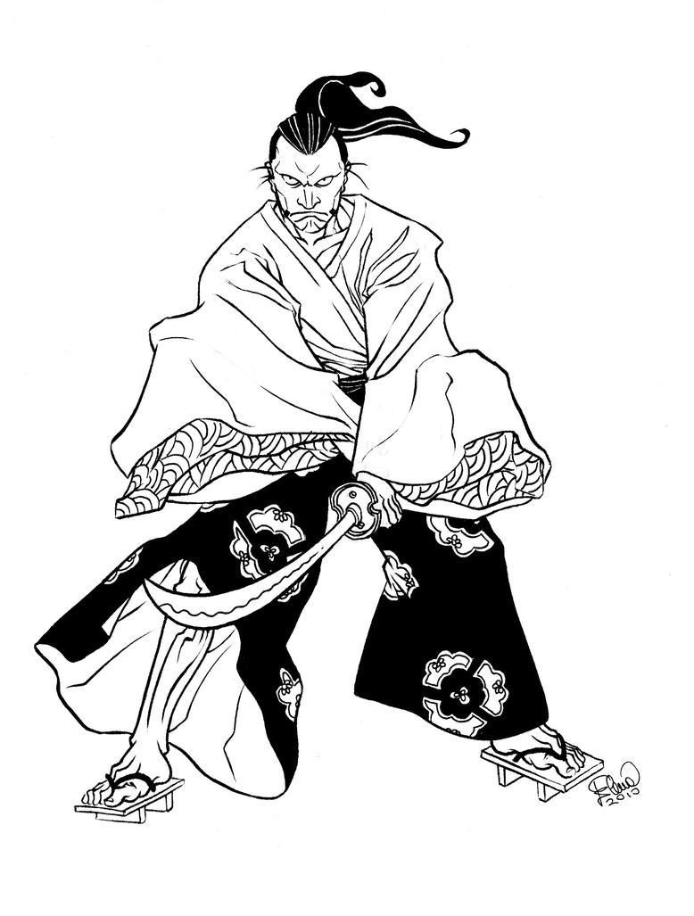 Samurai Tattoo by elena-casagrande