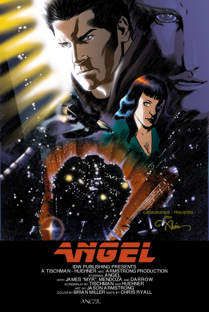 Angel 40 Cover by elena-casagrande
