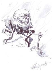 New M.O.D.O.K. sketch by elena-casagrande