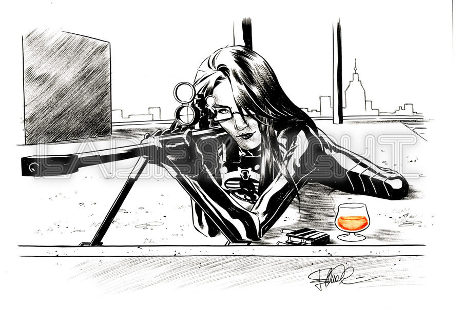 The Baroness - Rum - At work by elena-casagrande