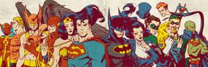 Silver Age JLA for Blastoff Comics - 2012
