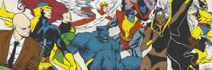 Bronze Age X-Men for Blastoff Comics - 2012 by elena-casagrande