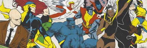 Bronze Age X-Men for Blastoff Comics - 2012