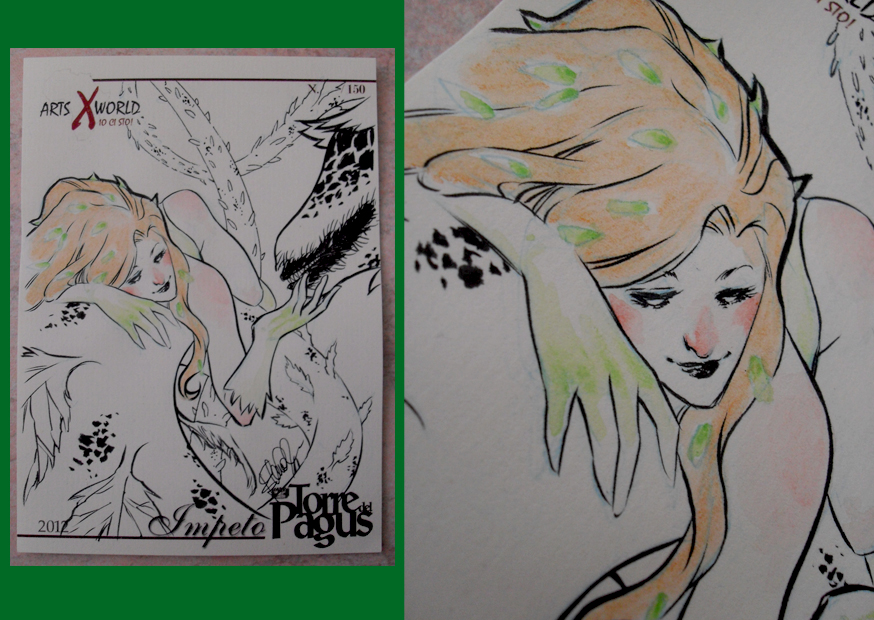 Comicsxafrica labels - Poison Ivy by elena-casagrande