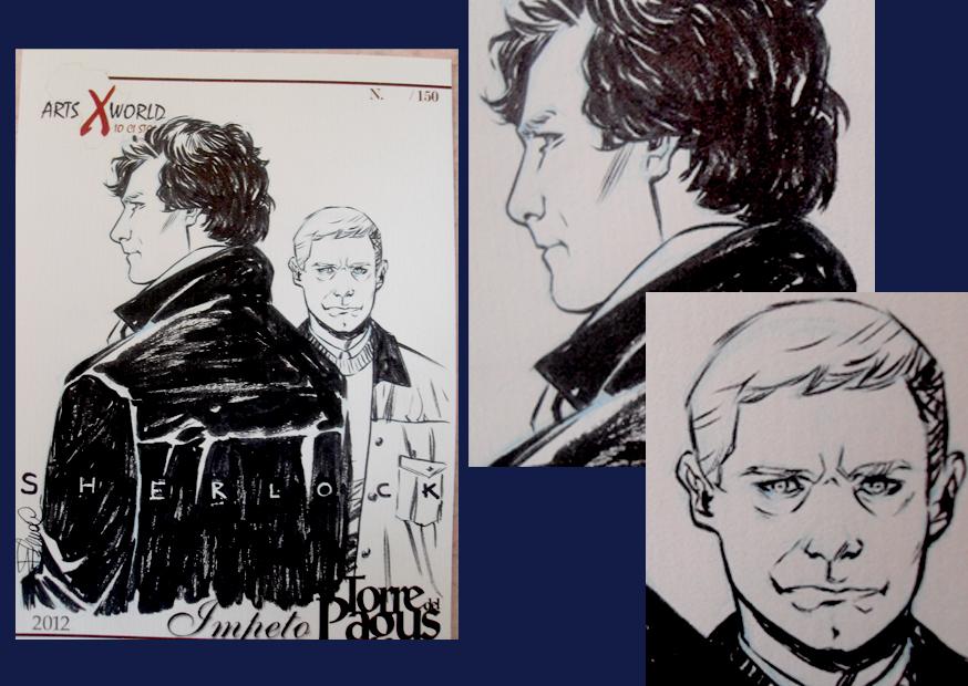 Comicsxafrica labels - Sherlock by elena-casagrande