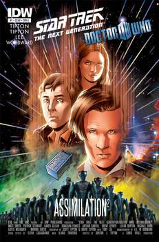 Star Trek/Doctor Who - Assimilation3 Variant Cover