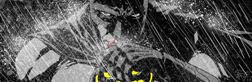 Batman banner for Blastoff Comics - 2012