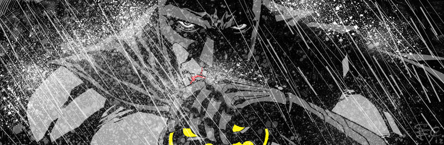 Batman banner for Blastoff Comics - 2012 by elena-casagrande