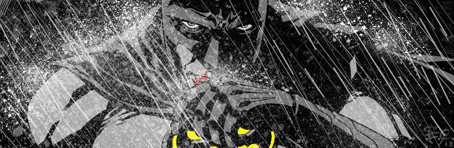 Batman banner for Blastoff Comics - 2012 by elena-casagrande