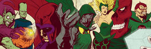 Silver Age Marvel Villains for BlastoffComics 2012