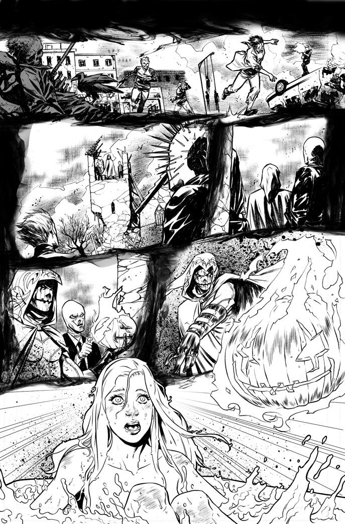 HACK/SLASH issue #20 - pag 1 by elena-casagrande