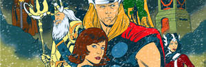 Thor banner for Blastoff Comics