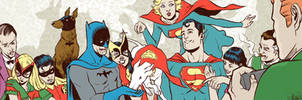 A Family Picture banner for Blastoff Comics by elena-casagrande
