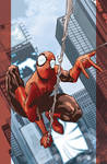 Ultimate Spider-Man cover for Marvel Italia