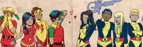 Kid Heroes for Blastoff Comics