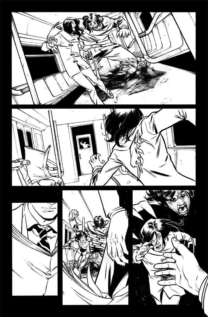Doctor Who: the Tenth Doctor 1 - pag 23 by elena-casagrande