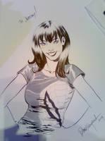 MJ Paris Manga Sketch by elena-casagrande