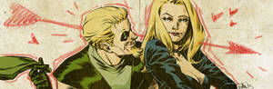 Green Arrow and Black Cannary banner