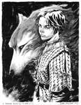 Arya Stark commission