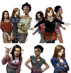 Doctor Who Companions Covers