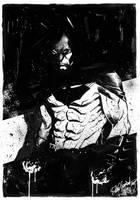 Batman sketch by elena-casagrande