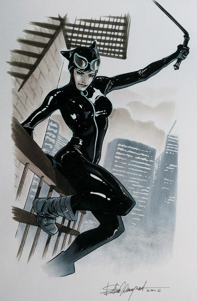 Catwoman commission by elena-casagrande